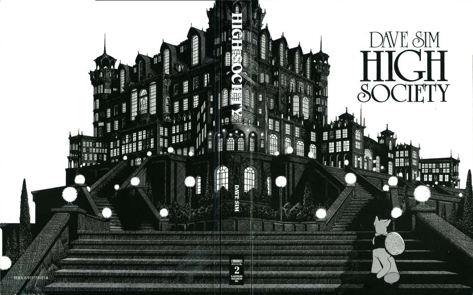 Cerebus Vol. 2: High Society (reprints issues 26-50)