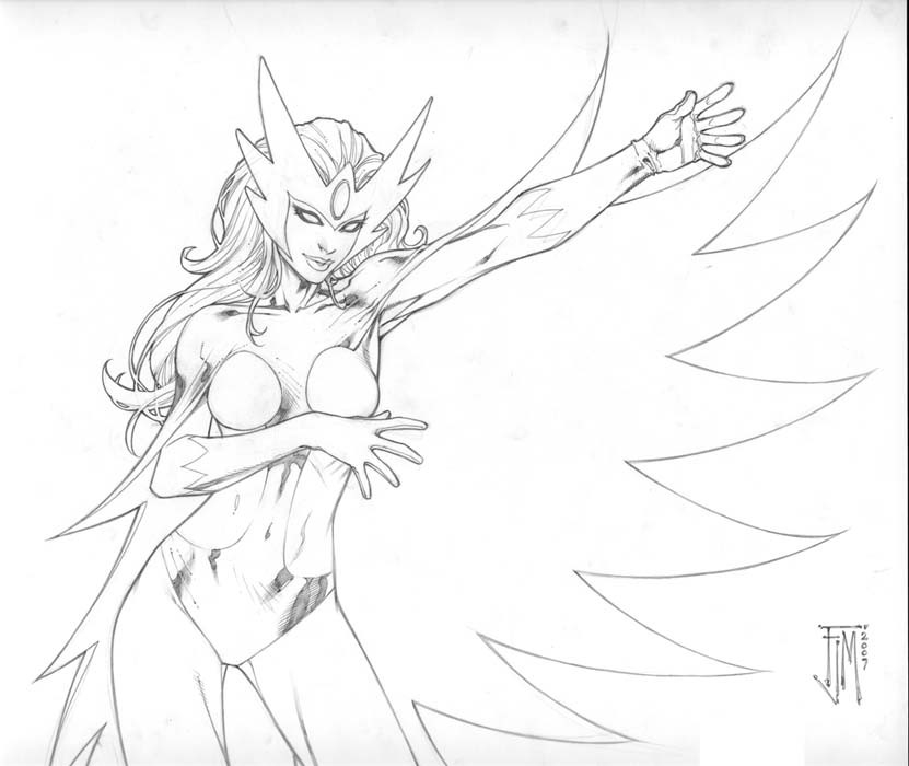 Alpha Flight's Snowbird is suggested to be the daughter of Nelvana of the Northern Lights. Art by Francis Manapul.