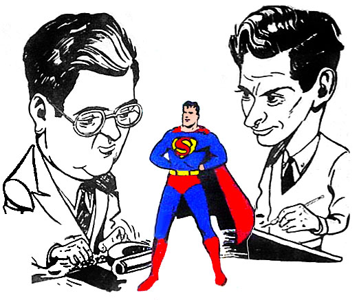 Joe Shuster, Superman, Jerry Siegel