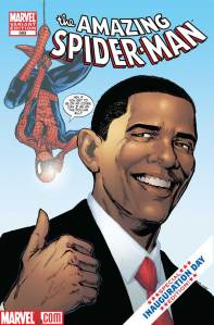 Amazing Spider-Man 583 (Obama Variant)