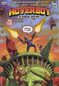 Hoverboy #1 (2008), published by Mr. Comics