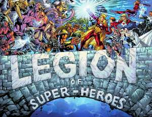 The final issue of DC's Legion of Super-Heroes #50 is out this Wednesday, January 28th - artwork by Francis Manapul and Livesay