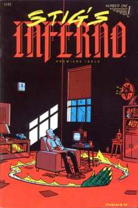 Stig's Inferno #1 (1984), published by Vortex Comics