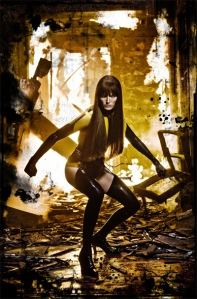 Toronto's own Malin Akerman as the Silk Spectre