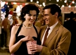 BC actor Laura Mennell plays Janey Slater, with Billy Crudup as Jon Osterman (pre-Dr. Manhattan) in a flashback scene from the movie.