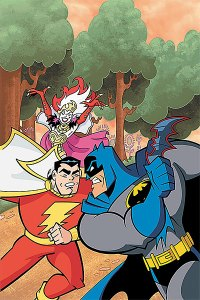 Batman: The Brave and the Bold #5 Cover. Issue written by J. Torres