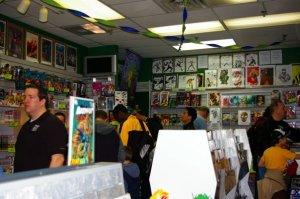 A selection of Original Art available at Stadium Comics.
