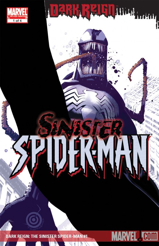 Dark Reign - The Sinister Spider-Man Chris-bachalo-dark-reign-the-sinister-spider-man-1