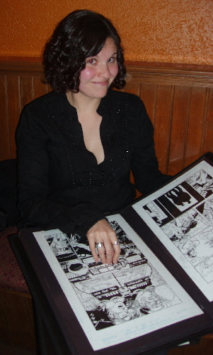 Comic retailer and Original Art collector Jenn Stewart