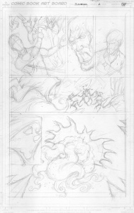 Pencil roughs by Kidwell