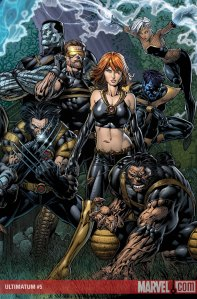 Ultimatum #5 Cover by David Finch
