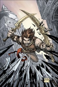 Prince of Persia Cover by Todd McFarlane
