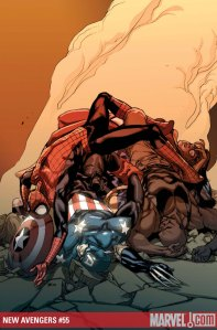 New Avengers #55 Cover by Stuart Immonen