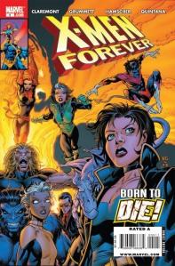 X-Men Forever #5 Cover by Tom Grummett