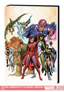 Official Handbook of the Marvel Universe A to Z Vol. 10 Cover by Tom Grummett