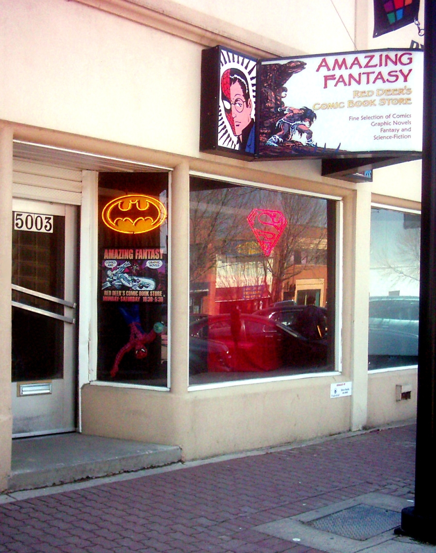 Amazing Fantasy in Red Deer, AB