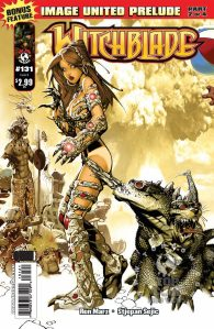 Witchblade #131 Variant Cover by Chris Bachalo