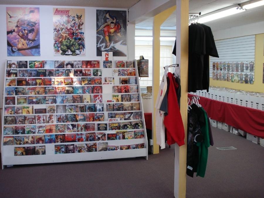 The Comic Cave in Winnipeg, MB