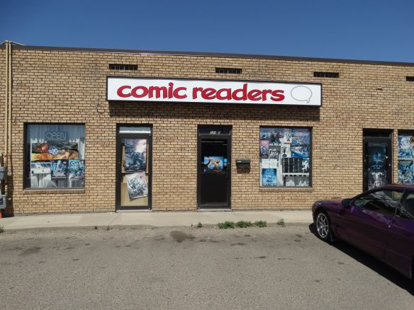 Comic Readers Medicine Hat exterior