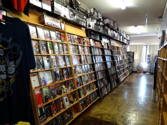 Comic Readers Medicine Hat interior