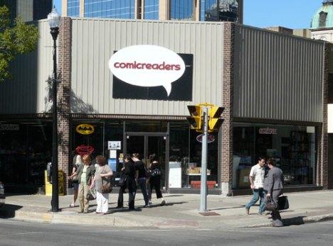 Comic Readers on 12th Avenue in Regina, SK