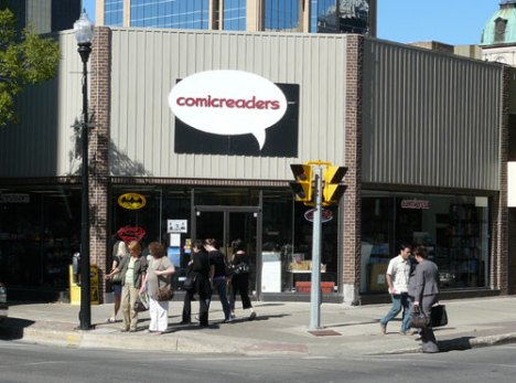 Comic Readers on 12th Avenue in Regina, SK