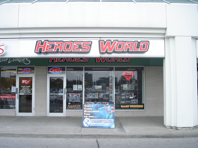 Heroes World in Markham, ON