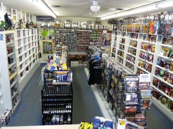 High Octane Comics in Kamloops, BC