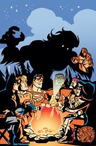 Super Friends #20 Cover by J. Bone