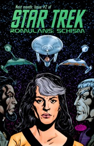 Star Trek Romulans: Schism #2 Cover by John Byrne