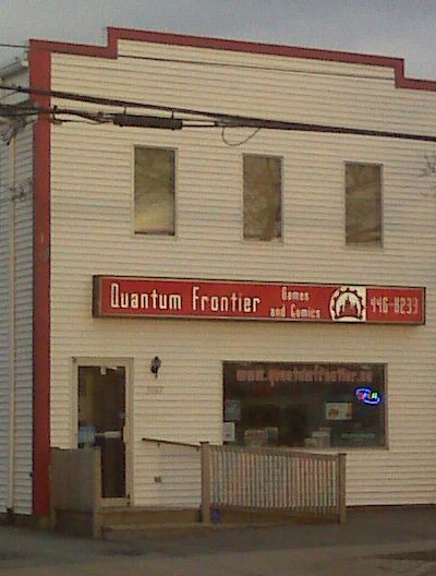 Quantum Frontier Games & Comics in Halifax, NS