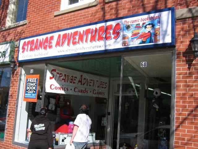 Strange Adventures in Fredericton, NB