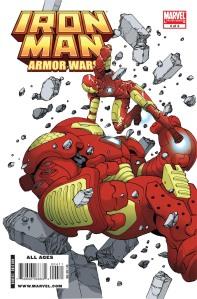 Iron Man & The Armor Wars #4 Cover by Takeshi Miyazawa
