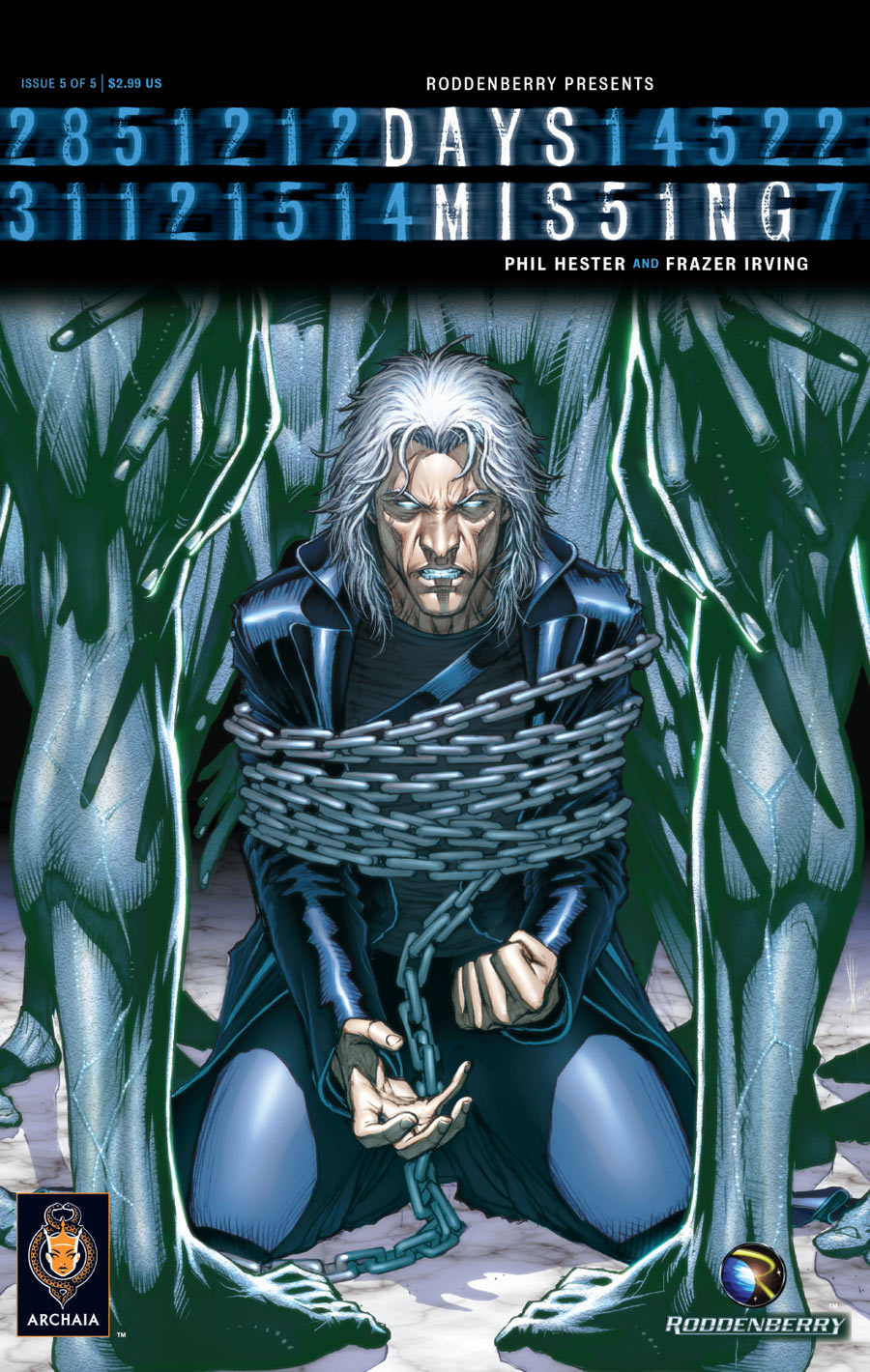 Days Missing #2 of 5 Dale Keown Cover Comic Book