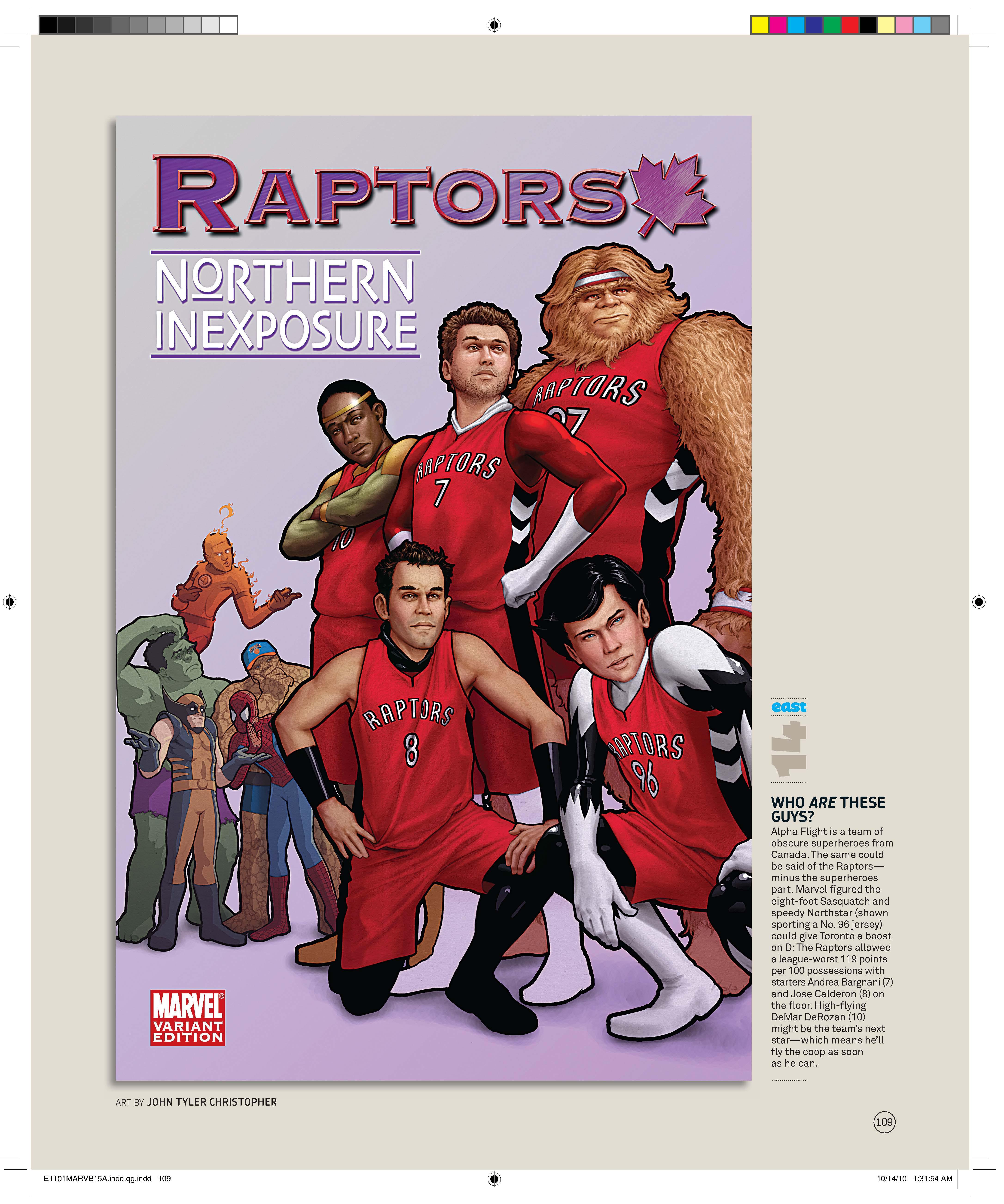 Espn & marvel's nba comic covers ballislife. Com.
