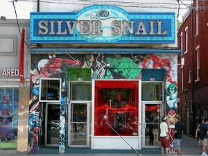 Toronto's Silver Snail has been a fixture on Queen Street since it was established back in 1978.