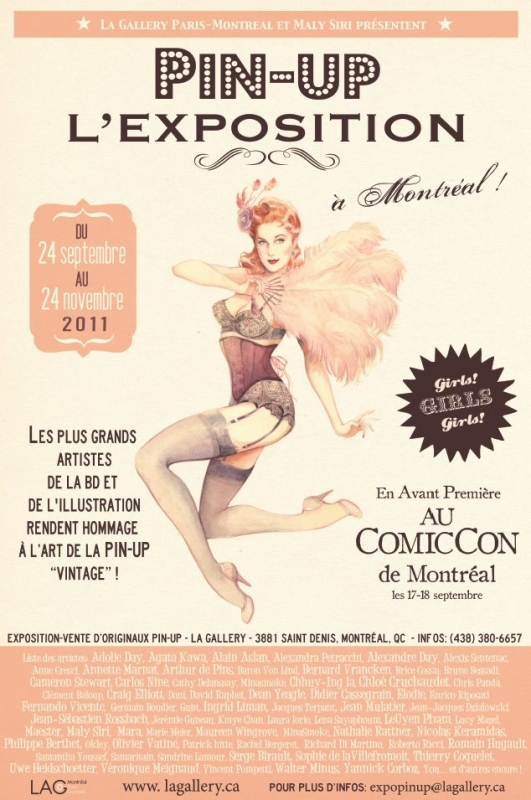 b37165ad79 Happenings: Pin-Up L'Exposition: 9/23-11/24 in Montreal – THE JOE ...