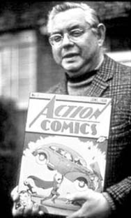 Joe Shuster in 1975