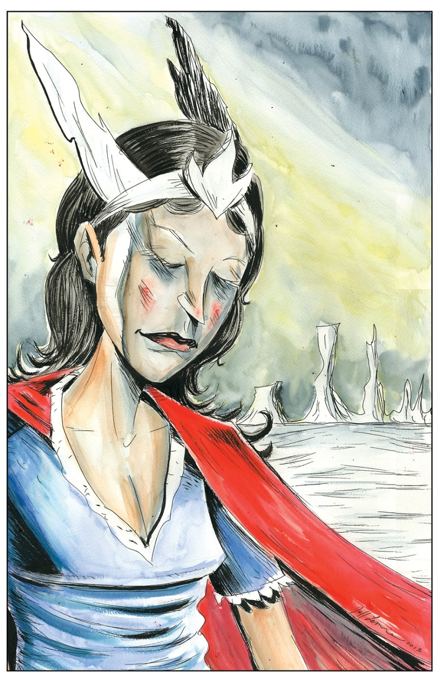 Nelvana by Jeff Lemire