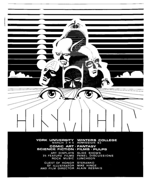 Steranko Poster for Cosmicon I